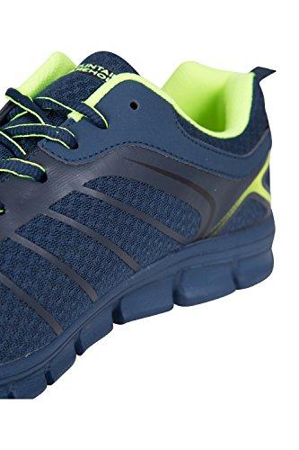 Strapazierfähige Herren Alltag und Fitness Für Marineblau für Sneaker Synthetik Boost Mountain aus lässig Wanderschuhe Laufschuhe Netzstoff Warehouse Reisen atmungsaktiv wSITxWX
