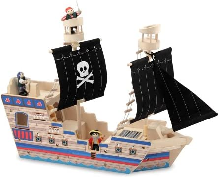 Melissa /& Doug 96023 Pirate Role Play Set Toddler Multicolor