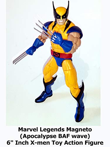 Review: Marvel Legends Wolverine (Apocalypse BAF wave) 6