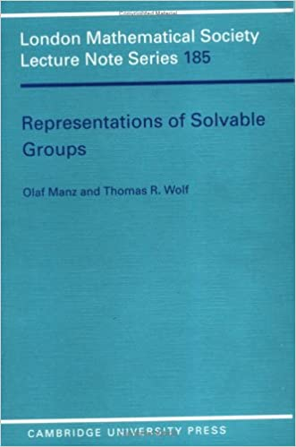 Book Representations of Solvable Groups (London Mathematical Society Lecture Note Series)