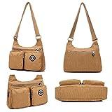 Lightweight Crossbody Bag,Fashion Messenger Bags,Water-resistant Nylon Purses and Shoulder Handbags for Women&Girls