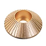 ErYao Carbide Wood Sanding Carving Shaping Disc for Angle Grinder Grinding Wheel Sale (Gold)