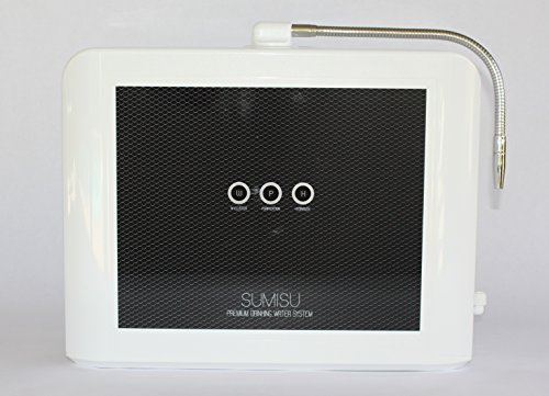 sumisu hydrogen water generator by zontos for 0 95 to 1 2 ppm infused diatomic hydrogen  h2  in