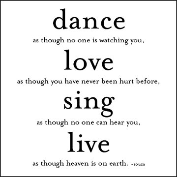 Quotable Dance Love Sing Journal 9781590351451 Amazon Books
