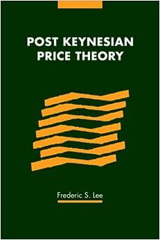 Book Post Keynesian Price Theory (Modern Cambridge Economics Series)