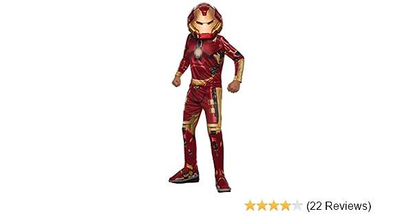 Rubies Costume Avengers 2 Age of Ultron Childs Hulk Buster (Iron Man) Costume, Medium