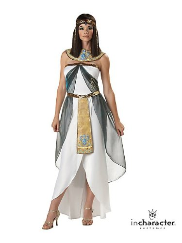 Queen of the Nile Adult Costume - (Toga Costum)