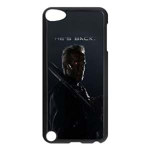 iPod Touch 5 Case Black aj96 terminator he is back film arnold hero O3X5UU