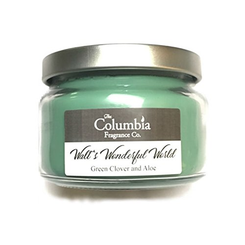 Green Clover Aloe (WALT'S WONDERFUL WORLD - Green Clover and Aloe candle, 8 oz)