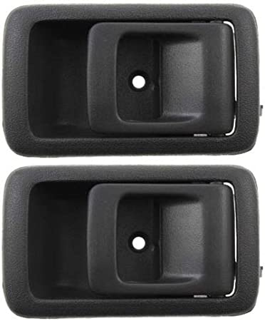AUTEX Door Handles 2pcs Gray Interior Inside Inner Front//Rear Left Right Side Door Handles Compatible with Toyota Tercel 1995-1999,Toyota 4Runner 96-02,Toyota Camry 87-91,Toyota Tacoma 01-04 9597180