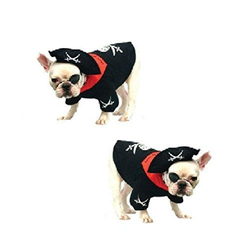 Dog Costume-Boy Pirate Costumes-Dress Your Dogs As Pirates by Defonia Petsupplies