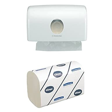 AQUARIUS 6956 Multifold Hand Towel Dispenser, White Kimberly-Clark Professional (EU)