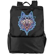 Louise Morrison Indian Art ` Wolves And Native American Indians Women Men Laptop Travel Backpack College School Bookbag