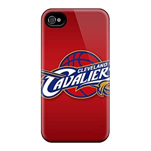 Durable Hard Phone Cases For Iphone 4/4s With Support Your Personal Customized Nice Cleveland Cavaliers Series KevinCormack
