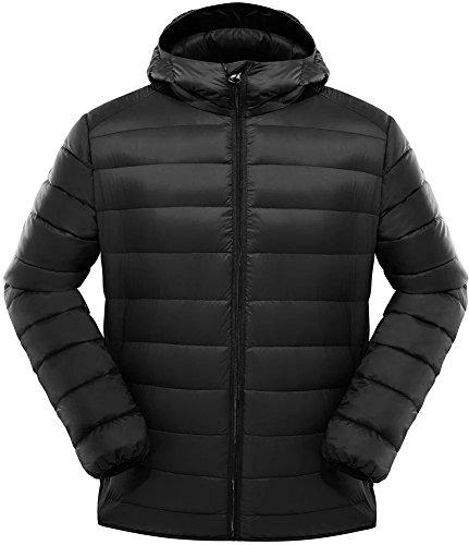 puffer jacket men hooded - 9