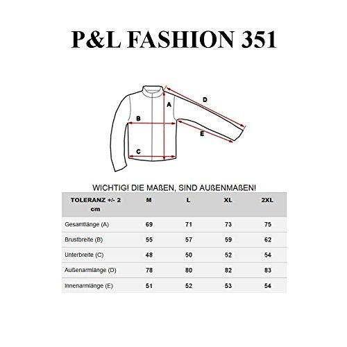 Hombre BOLF 351 Oscuro Bolsillos Impresión P Fashion Capucha Sudadera Gris Cremallera amp;L BdqxwdgrZ