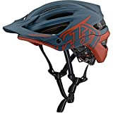 Troy Lee Designs A2 Classic Decoy Adult Off-Road BMX Cycling Helmet - Air Force Blue/Clay/Small