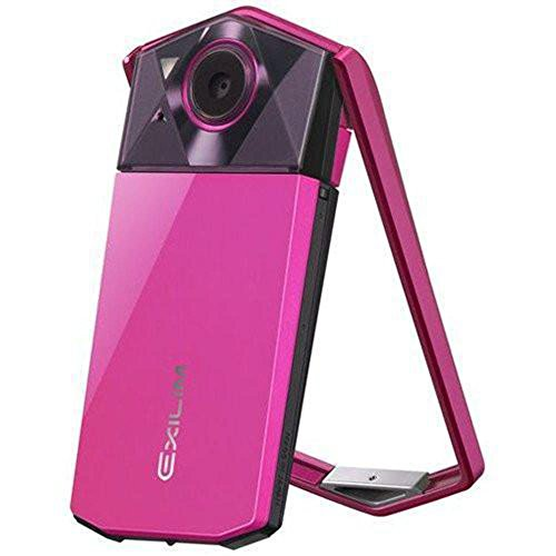 Casio Exilim EX-TR70 (Vivid Pink) Selfie Digital Camera - International Version (No Warranty)
