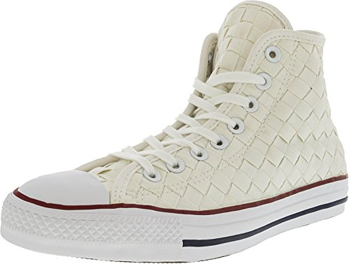 Converse Mens Chuck Taylor All Star High Top Wit / Rood / Wit