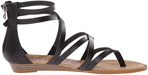 Blowfish Bungalow Donna US 6.5 Nero Sandalo Gladiatore