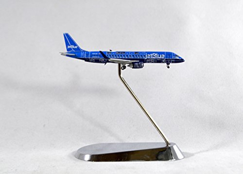 GeminiJets JetBlue Airlines Embraer E-190 Diecast Airplane Model N304JB With Stand 1:400 Scale Part# GJJBU1656
