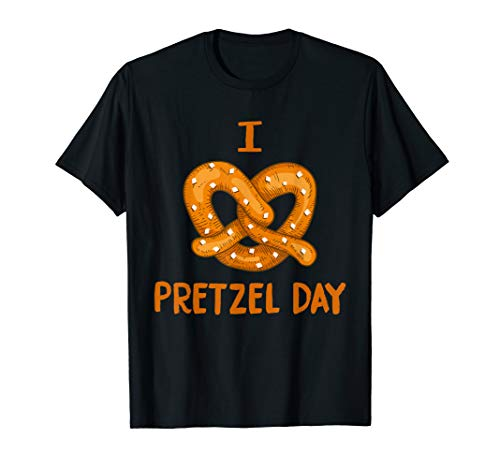 I love pretzel day shirt men women kid funny tee vintage