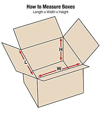"Aviditi 131313 Corrugated Box, 13"" Length x 13"" Width x 13"" Height, Kraft (Bundle of 25)"