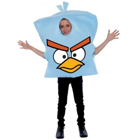 Angry (Blue Bird Wings Costume)