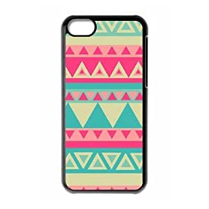 Cool Painting Aztec Tribal Pattern The Unique Printing Art Custom Phone Case for Iphone 5C,diy cover case case537299