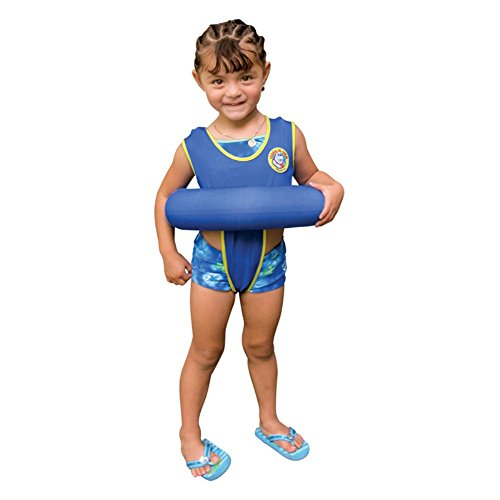 Poolmaster Blue Learn-to-Swim Tube Trainer