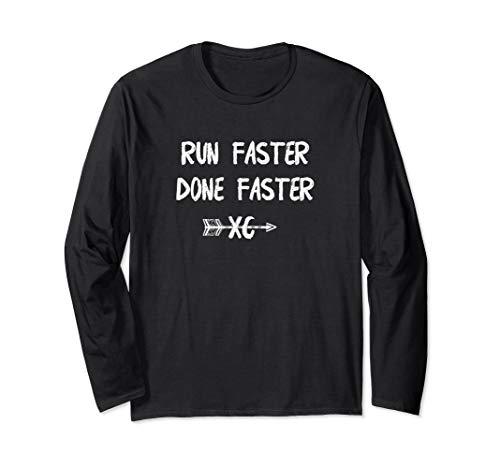 Cross Country Running Long Sleeve T Shirt