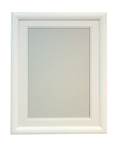 R7 White Picture Photo Frame With White Double Mount A3 for Pic Size ...