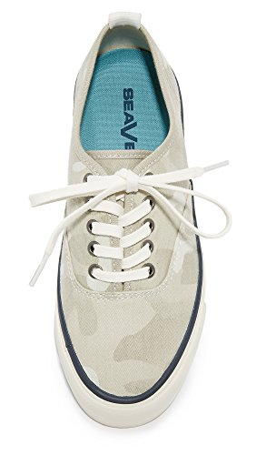 Camo Fashion Twill Camouflage SeaVees Womens Sneakers Cream Legend qRvwwAWS