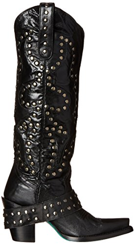Rocker Black Stud Women's Boot Lane Boots Western tOZCwC