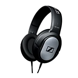 Sennheiser HD 201 | Comfortable Lightweight Over Ear Headphone