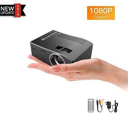 Acouto Mini proyector, proyector portátil, Mini proyector 1080P AV ...