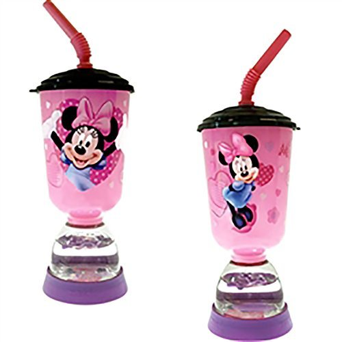 disney-minnie-mouse-cute-girls-9-oz-tumbler-cup-w-straw-pink-purple