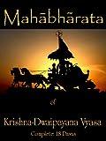 Mahabharata of Krishna-Dwaipayana Vyasa (Complete)