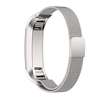 Fitbit Alta watch Bracelet ,SongNi® Milanese Magnetic Loop Stainless Steel Bracelet For Fitbit Alta