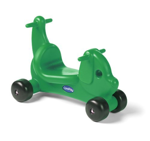 Careplay Ride-On Play Puppy Critter, Green by Foundations Worldwide by Careplay