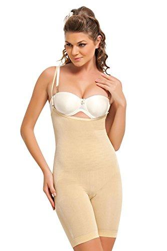 NBB Women Full Body Firm Slimming Waist Control Thigh Reducer Bodysuit Shapewear