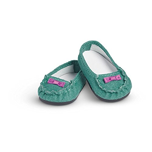 American Girl - Teal Moccasins for Dolls - Truly Me 2017