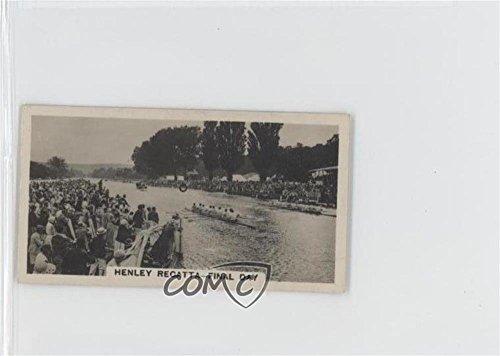 Henley Regatta (Henley Regatta, Final Day COMC REVIEWED Good to VG-EX (Trading Card) 1932 Wills Homeland Events - Tobacco [Base] - set of 54 #15)