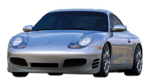 Duraflex Replacement for 1999-2001 Porsche 911 Carrera 996 1997-2004 Boxster (986) Turbo Look Front Bumper Cover (non turbo model) - 1 Piece