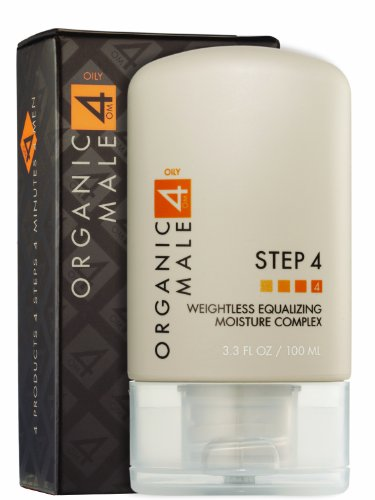 Organic Male OM4 Oily STEP 4: Weightless Equalizing Moisture Complex - 3.3 oz