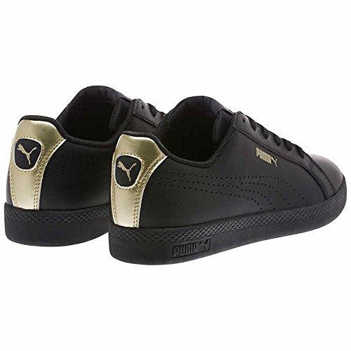 Puma Kvinders Smadre Wns Perf Metallisk Sneaker Puma Sort-metallic Guld vNHq7