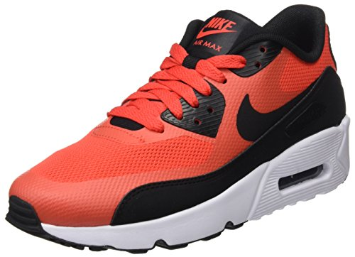 NIKE Youth Air Max 90 Ultra 2.0 Mesh Trainers Max Orange/Black/White clearance best seller pre order sale online ZLmuXq