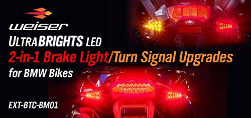 Ultrabrights 2-in-1 LED Brake Light/Turn Signal Upgrades for newer BMW Motorcycles (S series, G series, R series and F series)