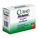 Curad Mediplast Corn, Callus & Wart Remover Pads, 25 Pads (Pack of 2)