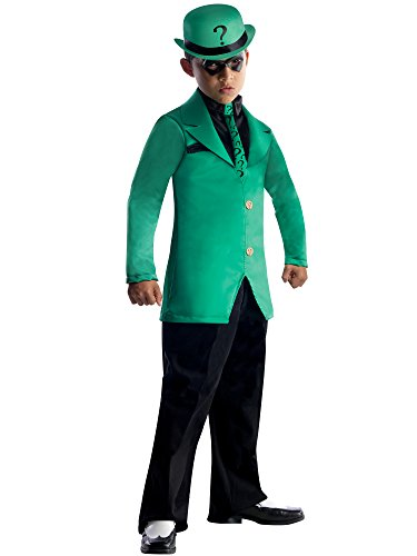 Batman: The Riddler Super Villain Kids Costume